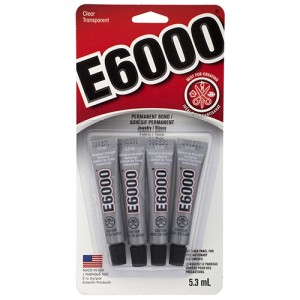 GLUE E6000 MINI TUBES (pack of 4)