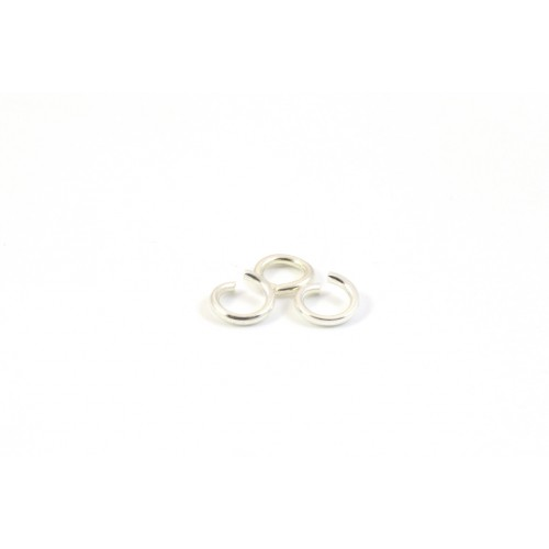6MM THIN JUMPRING STERLING SILVER .925