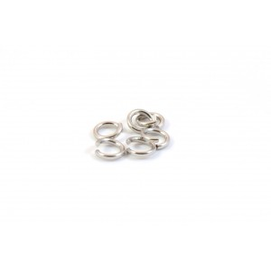 4MM JUMPRING NICKEL COLOR (PACK OF 100)