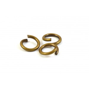 10MM JUMPRING ANTIQUE BRASS (PACK OF 50)