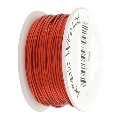 Fils 18 gauge Artistic Wire rouge