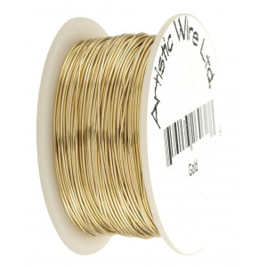 Artistic wire 18 gauge, non tarnish Brass