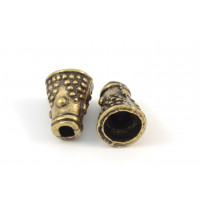CONE  DE 8X2MM LAITON ANTIQUE