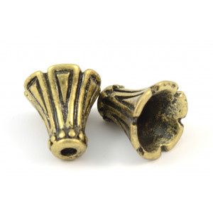 CONE  DE 12MM LAITON ANTIQUE