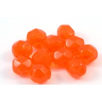 Facette orange 6mm