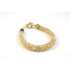BRACELET SCINTILLANT OR