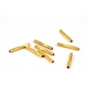 BILLE TUBE DROIT TWIST 10X1MM OR