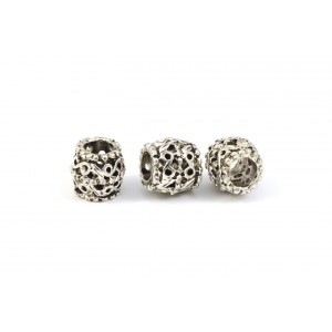 BILLE ARGENT ANTIQUE 9X10MM