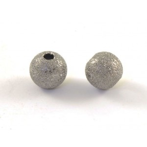 BILLE RONDE STARDUST 10MM NICKEL NOIR