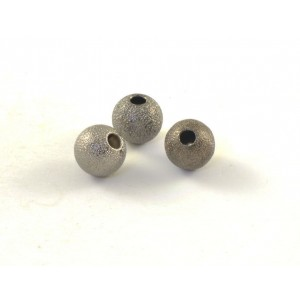BILLE RONDE STARDUST 8MM NICKEL NOIR