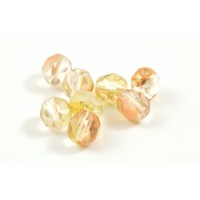 Facette crystal capri gold 6mm