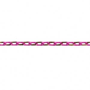 CHAÎNE NEO 3.5X2MM ROSE ET OR