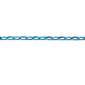 CHAÎNE NEO 3.5X2MM TURQUOISE ET OR