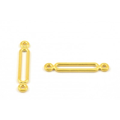 CONNECTOR BAR 23MM GOLD COLOR