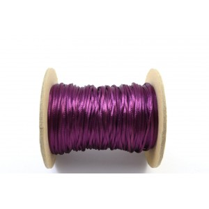 CORDE  QUEUE DE RAT 1MM MAUVE