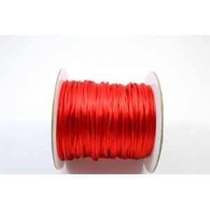 CORDE  QUEUE DE RAT 1,5MM ROUGE