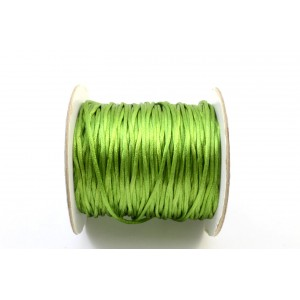 CORDE  QUEUE DE RAT 1,5MM VERT LIME