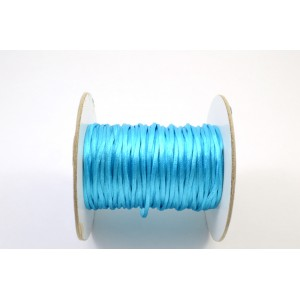 CORDE  QUEUE DE RAT 1,5MM AQUA