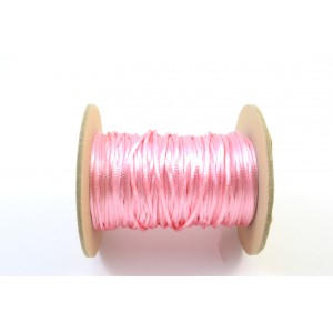 CORDE  QUEUE DE RAT 1,5MM ROSE PALE