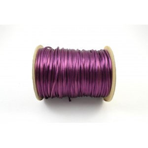 CORDE  QUEUE DE RAT 2MM MAUVE