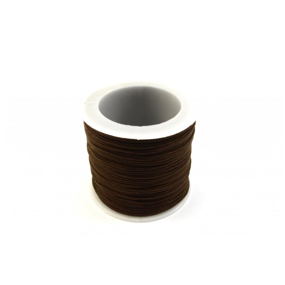 corde noeud 1mm brun shamballa kc1mm 06. Black Bedroom Furniture Sets. Home Design Ideas