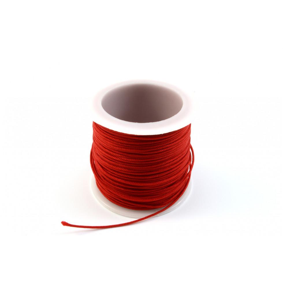 corde noeud 1mm rouge shamballa kc1mm 03. Black Bedroom Furniture Sets. Home Design Ideas