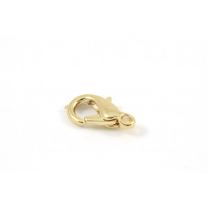 LOBSTER CLAW CLASP 13MM GOLD PLATED