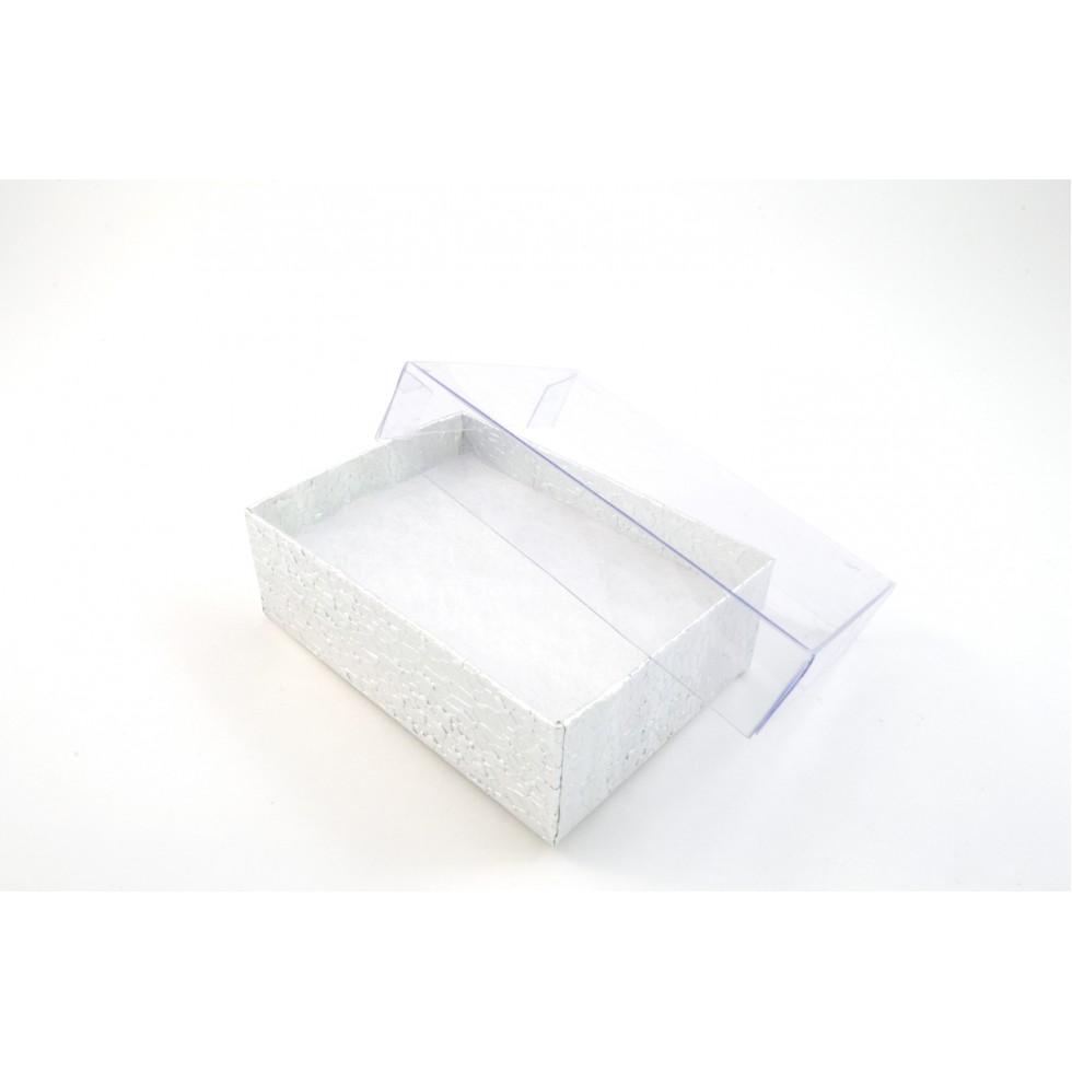 boite argent bague boucles transparent box01 cl. Black Bedroom Furniture Sets. Home Design Ideas