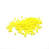 Rocailles Czech no.11 jaune pâle opaque