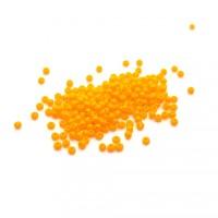 Rocailles Czech no.11 orange pâle opaque