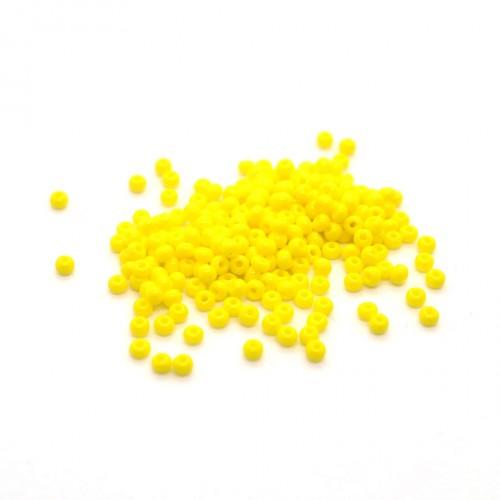 Rocailles Czech no.11 jaune opaque