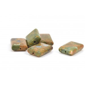 PIERRE RECTANGLE RHYOLITE 18x13MM