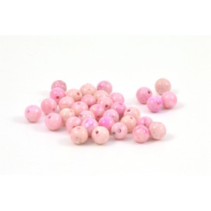 PIERRE RONDE 4MM RIVERSTONE PINK