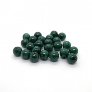 Pierre ronde 6mm Malachite