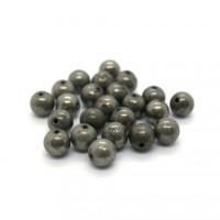Pierre ronde 6mm Pyrite
