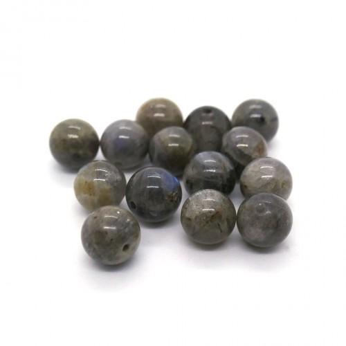 Pierre ronde 8mm Labradorite