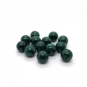Pierre ronde 8mm Malachite