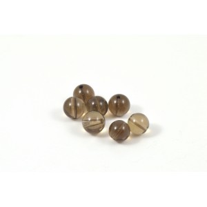 PIERRE RONDE 8MM SMOKY QUARTZ