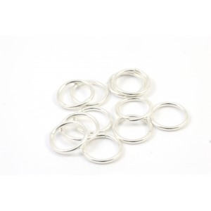 8MM THIN JUMPRING STERLING SILVER .925