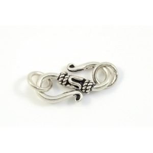 ANTIQUE STERLING SILVER HOOK CLASP