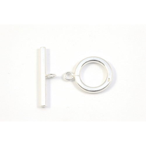 FERMOIR TOGGLE 15MM ARGENT STERLING