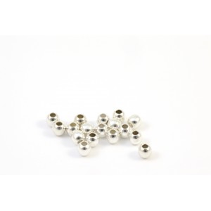2MM BEAD ROUND STERLING SILVER .925