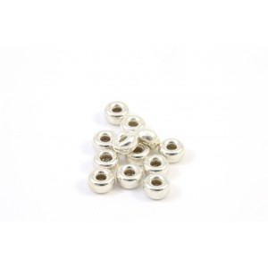 STERLING SILVER .925  RONDELLE BEAD 4X2MM
