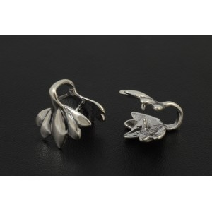 ANTIQUE STERLING SILVER .925  BAIL 14MM
