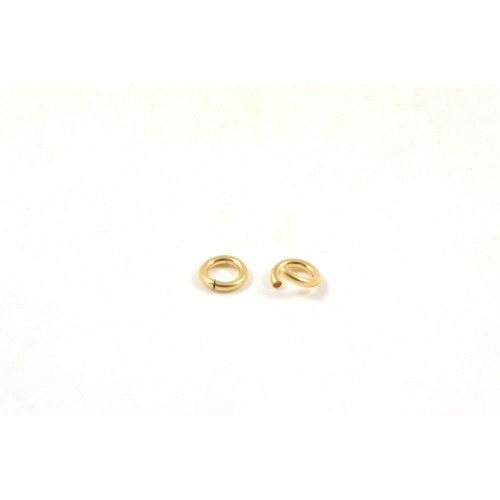 ANNEAUX 4MM GOLD-FILLED