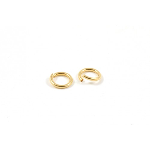 ANNEAUX 6MM GOLD-FILLED