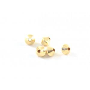 Bille gold-filled 3mm bicone lisse