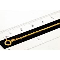 Chaîne prêt-à-porter 18 pouces serpentine 1,2mm gold-filled