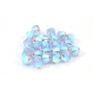 BICONE SWAROVSKI (5328) 4MM AIR BLUE OPAL 2XAB