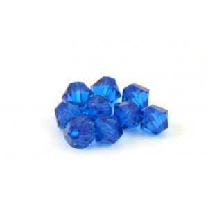 BICONE SWAROVSKI (5328) 4MM CAPRI BLUE